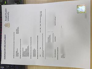Anglia Ruskin University certificate, Anglia Ruskin University transcript, fake ARU transcript,