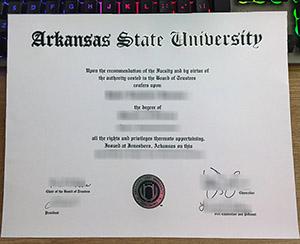 Arkansas State University diploma, Arkansas State University degree, Arkansas State University certificate,