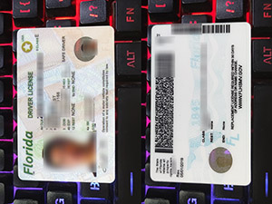 Florida driver license, Florida driving license, fake Florida driver card, fake USA driver license,