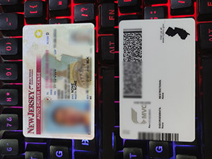 New Jersey driver license, New Jersey driver card, fake New Jersey driving license, fake American driver license,