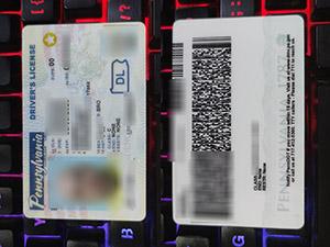Pennsylvania driver license, Pennsylvania driving license, fake USA driver license,