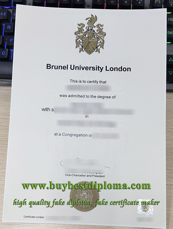 Brunel University London degree, Brunel University London diploma, Brunel University London certificate, 布鲁内尔大学毕业证,