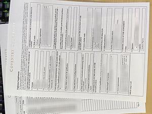 Coventry University transcript, Coventry University diploma supplement, Coventry University certificate,