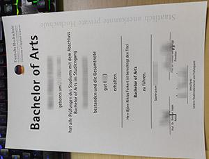 DHfPG URKUNDE, DHfPG diploma, fake DHfPG certificate,