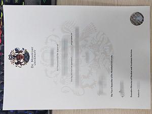 De Montfort University degree, fake DMU diploma, De Montfort University certificate,