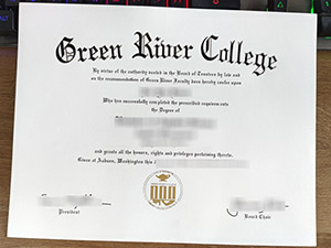 Green River College diploma, Green River College degree, fake Green River College certificate,