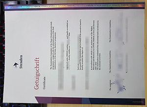 Hogeschool Stenden Getuigschrift, Hogeschool Stenden degree, NHL Stenden University of Applied Sciences diploma,