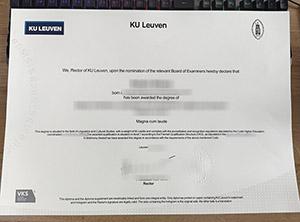 KU Leuven diploma, KU Leuven degree, fake KU Leuven certificate,