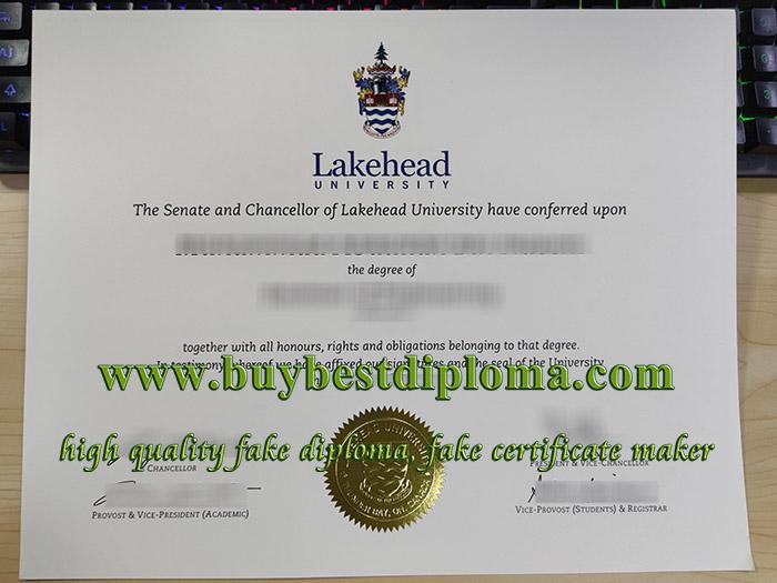 Lakehead University degree, Lakehead University diploma, Lakehead University certificate,