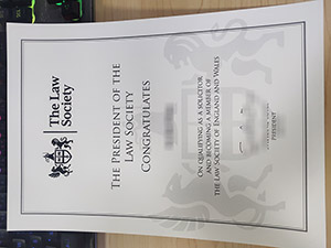 The Law Society certificate, The Law Society member certificate, The Law Society of England and Wales certificate,