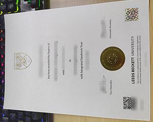 Leeds Beckett University diploma, Leeds Beckett University degree, fake LBU certificate,