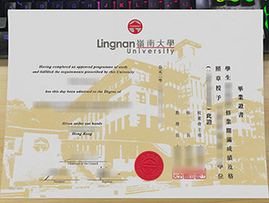 Lingnan University diploma, Lingnan University degree, fake Lingnan University certificate,