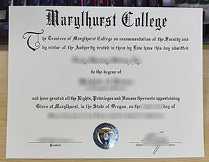 Marylhurst University degree, fake Marylhurst University diploma, Marylhurst University certificate,