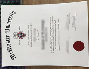 McMaster University diploma, McMaster University degree, fake McMaster University certificate, 麦克马斯特大学毕业证,
