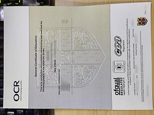 OCR GCE certificate, fake OCR certificate, fake General Certificate of Education, fake GCE certificate,