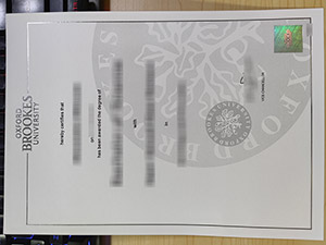 Oxford Brookes University degree, Oxford Brookes University diploma, fake Oxford Brookes University certificate.