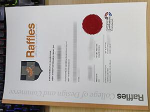 Raffles College of Design and Commerce degree, Raffles College of Design and Commerce diploma, fake Raffles College certificate,