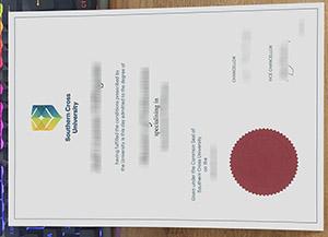 Southern Cross University diploma, fake Southern Cross University degree, Southern Cross University certificate, 南十字星大学毕业证,