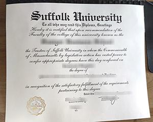 Suffolk University diploma, Suffolk University degree, Suffolk University certificate,