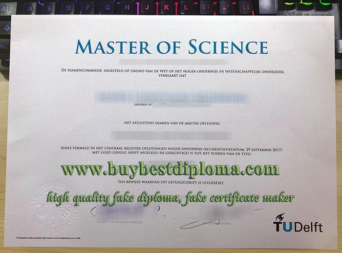 TU Delft degree, Delft University of Technology diploma, Delft University of Technology certificate,