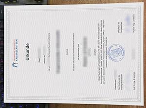 Technische Universität Kaiserslautern urkunde, fake TU Kaiserslautern diploma, Technical University of Kaiserslautern degree.