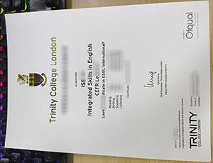 Trinity College London diploma, Trinity College London certificate, Trinity College London degree,