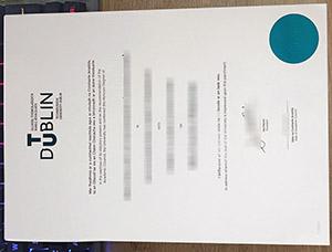 TU Dublin diploma, TU Dublin degree, Technological University Dublin degree, 都柏林理工大学毕业证,