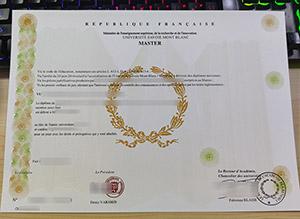 Université Savoie Mont Blanc diplome, University of Savoy Mont Blanc diploma, University of Savoy Mont Blanc certificate,