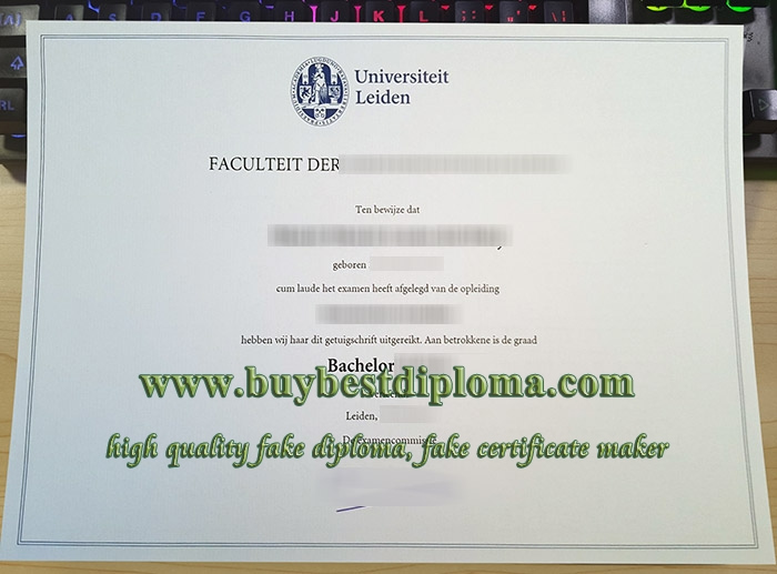 Universiteit Leiden getuigschrift, Universiteit Leiden degree, University of Leiden diploma,
