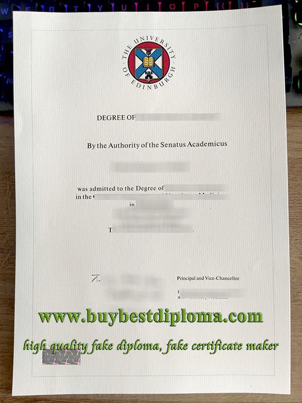 University of Edinburgh degree, University of Edinburgh certificate, fake University of Edinburgh diploma, 爱丁堡大学毕业证,