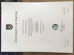 University of Exeter degree, fake University of Exeter diploma, University of Exeter certificate, 埃克塞特大学毕业证,