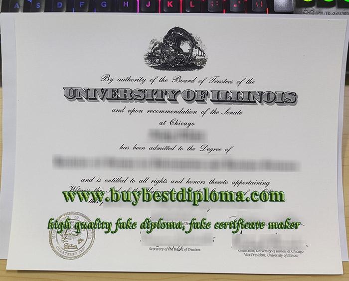 University of Illinois at Chicago diploma, University of Illinois at Chicago degree, fake UIC certificate,