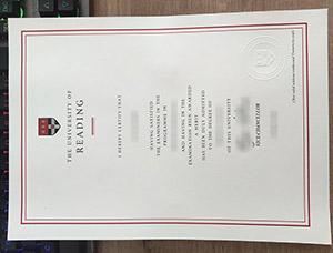 University of Reading degree, University of Reading diploma, University of Reading certificate, 雷丁大学毕业证,