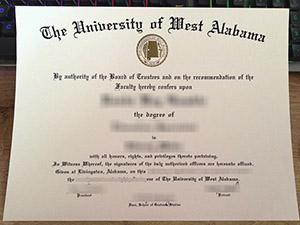 University of West Alabama diploma, University of West Alabama degree, fake UWA certificate,