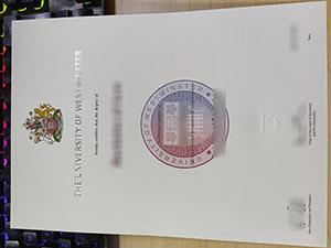 University of Westminster diploma, fake University of Westminster degree, University of Westminster certificate,